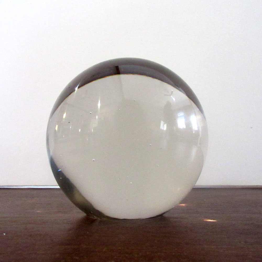 SMOOTH GLASS BALL, LARGE