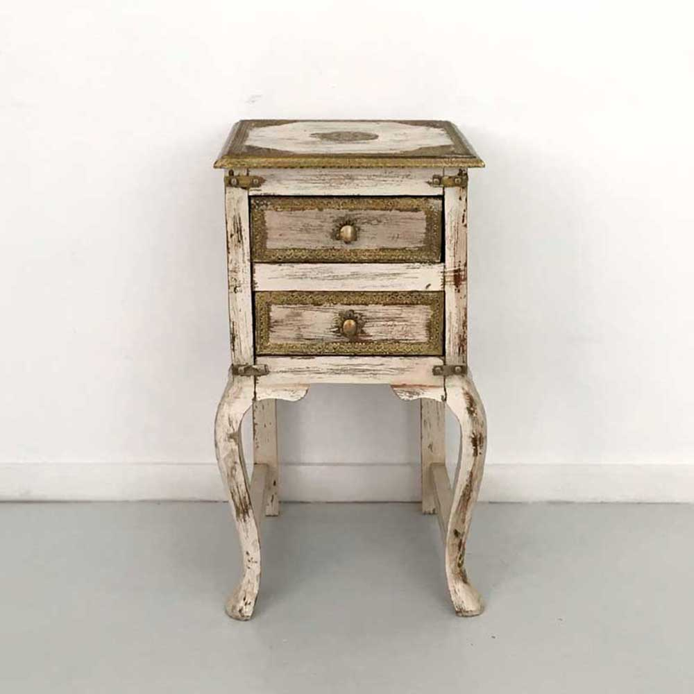 BAROQUE   BAROQUE SIDE TABLE, 2 DRAWERS