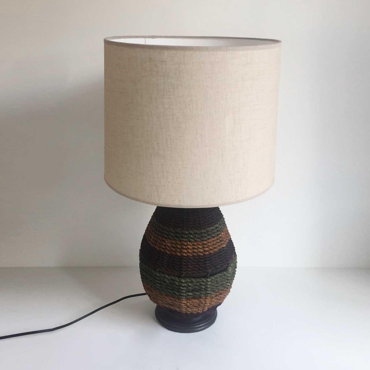 ZEBA ROPE TABLE LAMP