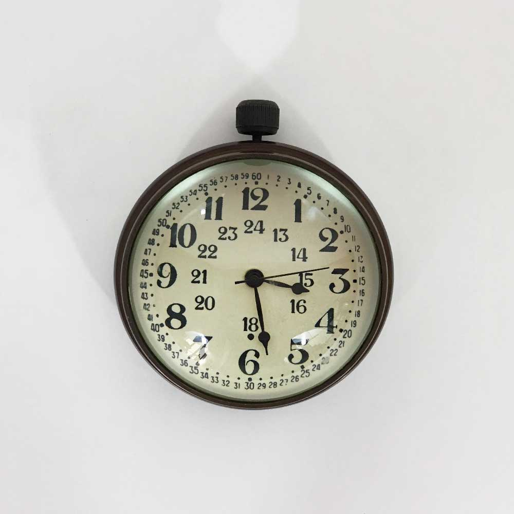 22   PAPERWEIGHT CLOCK