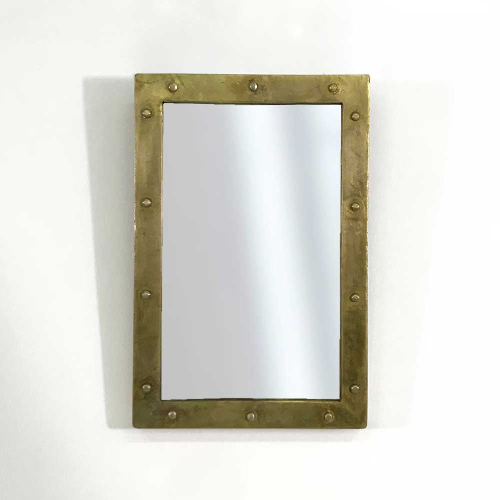 33    RIVET WALL MIRROR